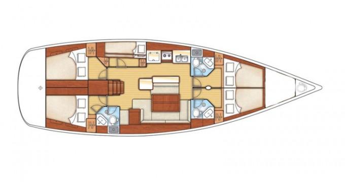 Rental Sailboat in Betina - Bénéteau Oceanis 50 Family