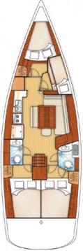 Rental Sailboat in Betina - Bénéteau Oceanis 43