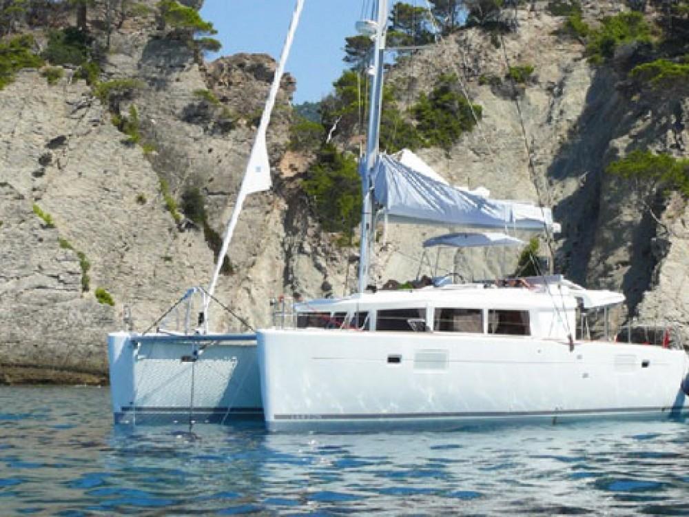 Boat rental Marsala cheap Lagoon 450