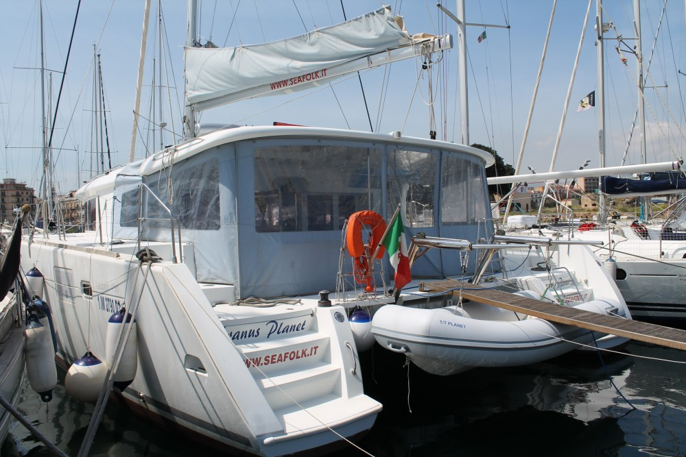 Boat rental Marsala Marina cheap Lagoon 450