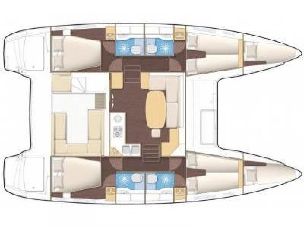Rental Catamaran in Marsala Marina - Lagoon Lagoon 450