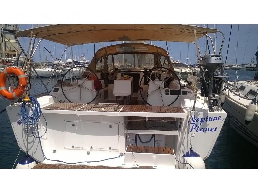 Boat rental Furnari cheap Dufour 460