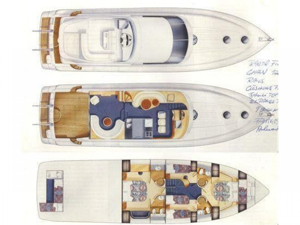 Hire Yacht with or without skipper Fairline Primošten