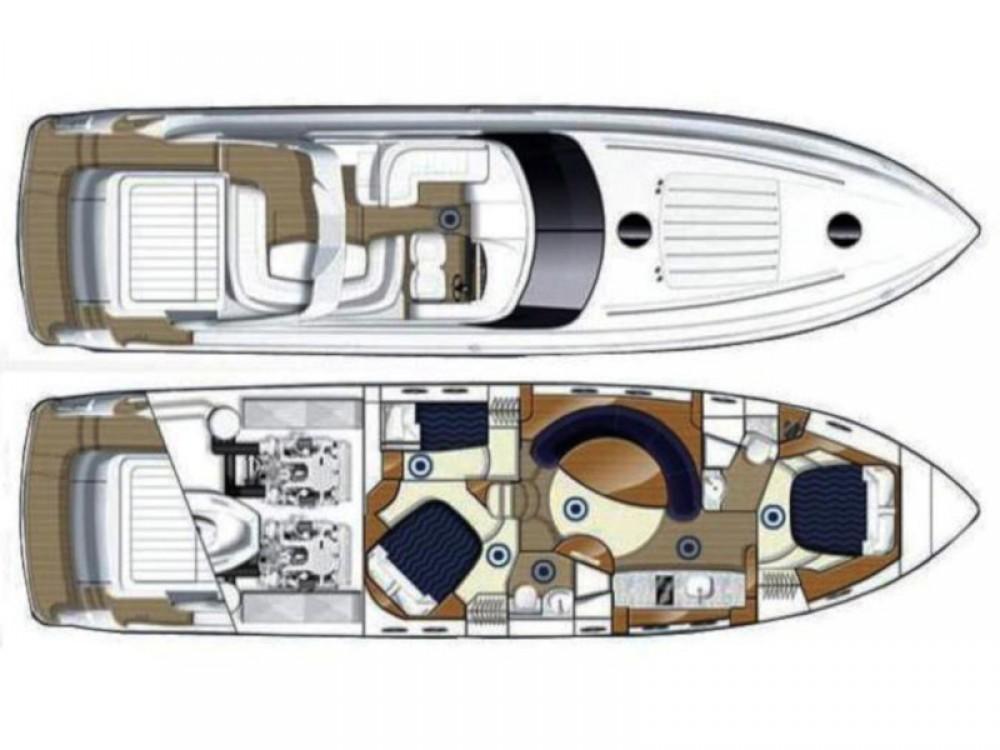 Rental yacht Primošten - Princess Princess V 58 on SamBoat