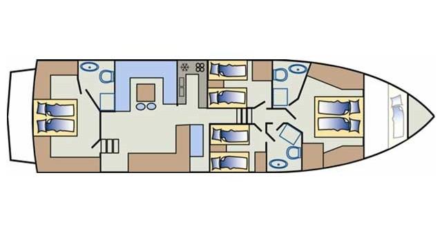 Boat rental Primošten cheap Yaretti 1910