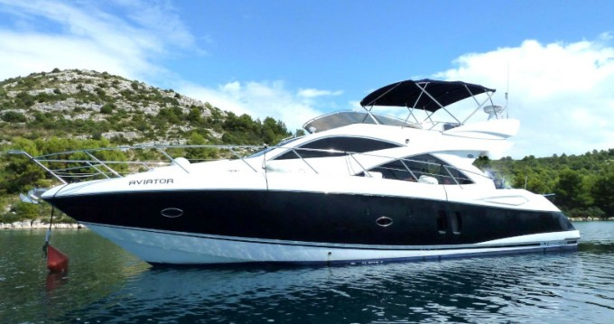 Rental Motorboat in Primošten - Sunseeker Manhattan 50
