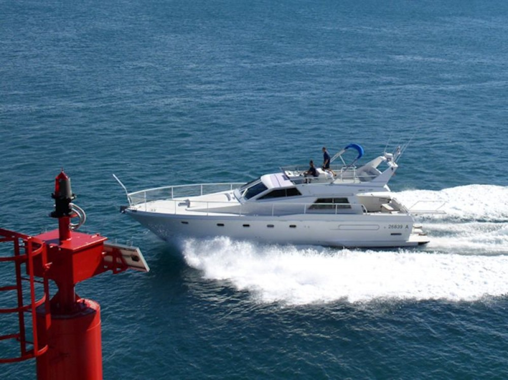 Boat rental Primošten cheap Ferretti 52-7
