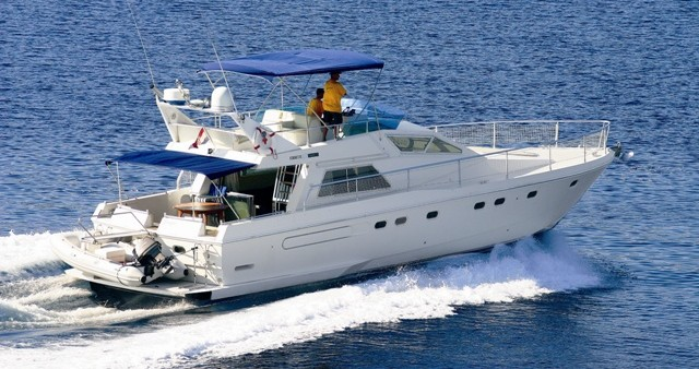 Ferretti Ferretti 52-7 between personal and professional Primošten