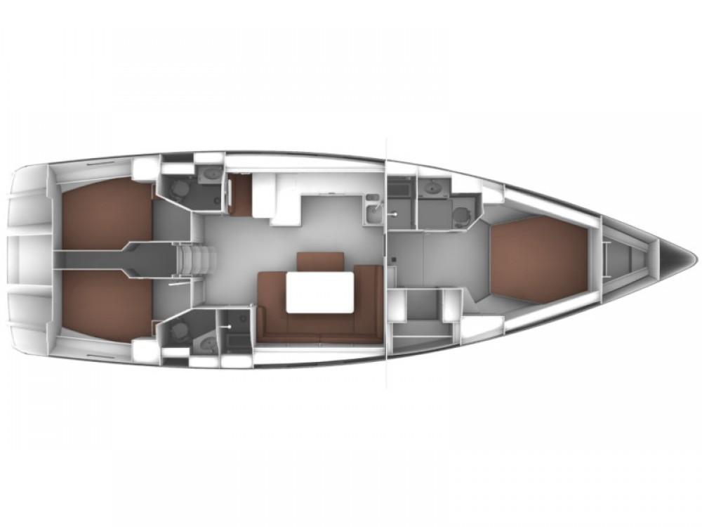 Rental yacht Kaštel Gomilica - Bavaria Bavaria Cruiser 51 on SamBoat