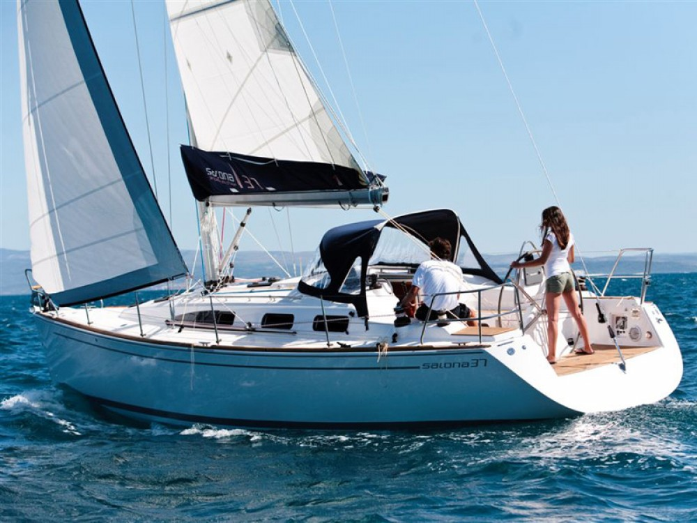 Hire Sailboat with or without skipper Salona Kaštel Gomilica