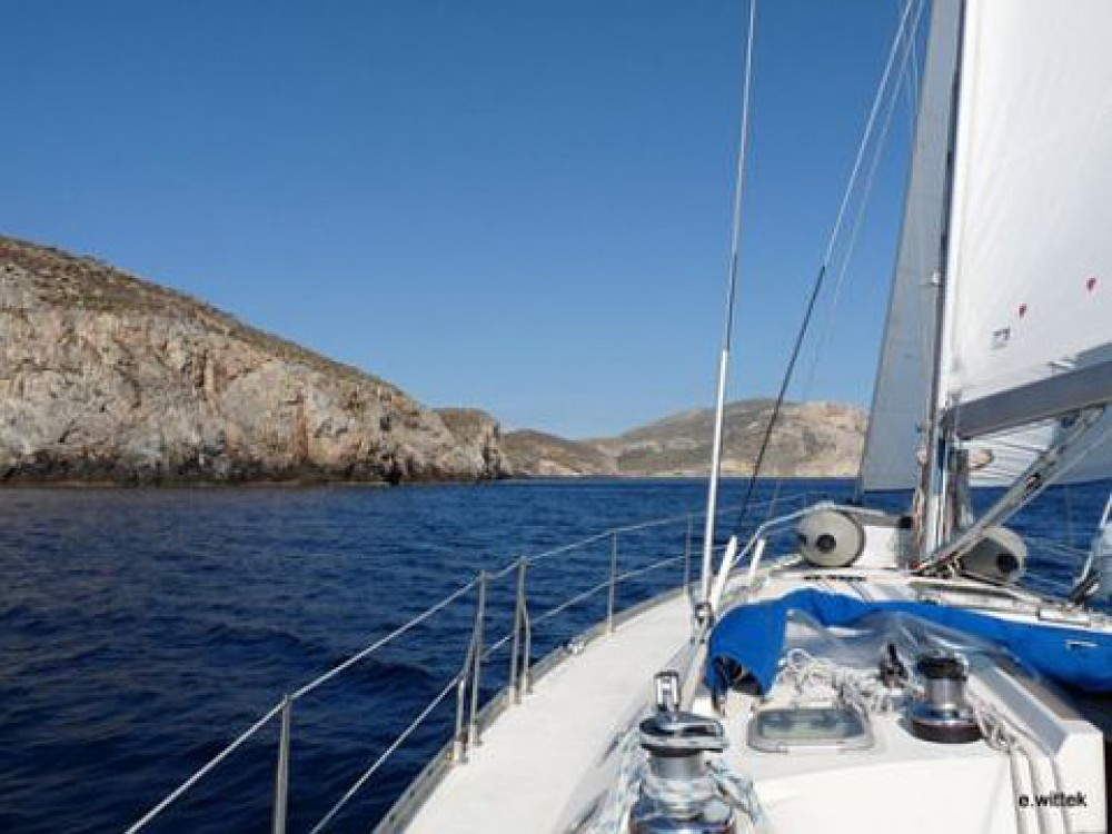 Jeanneau Sun Odyssey 45.2 between personal and professional Alimos Marina