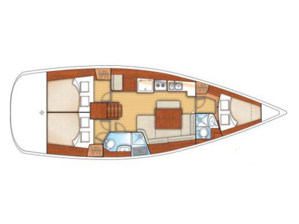 Boat rental Bénéteau Oceanis 40 in Alimos Marina on Samboat
