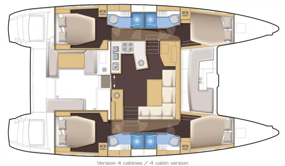 Boat rental Palma cheap Lagoon 450 S