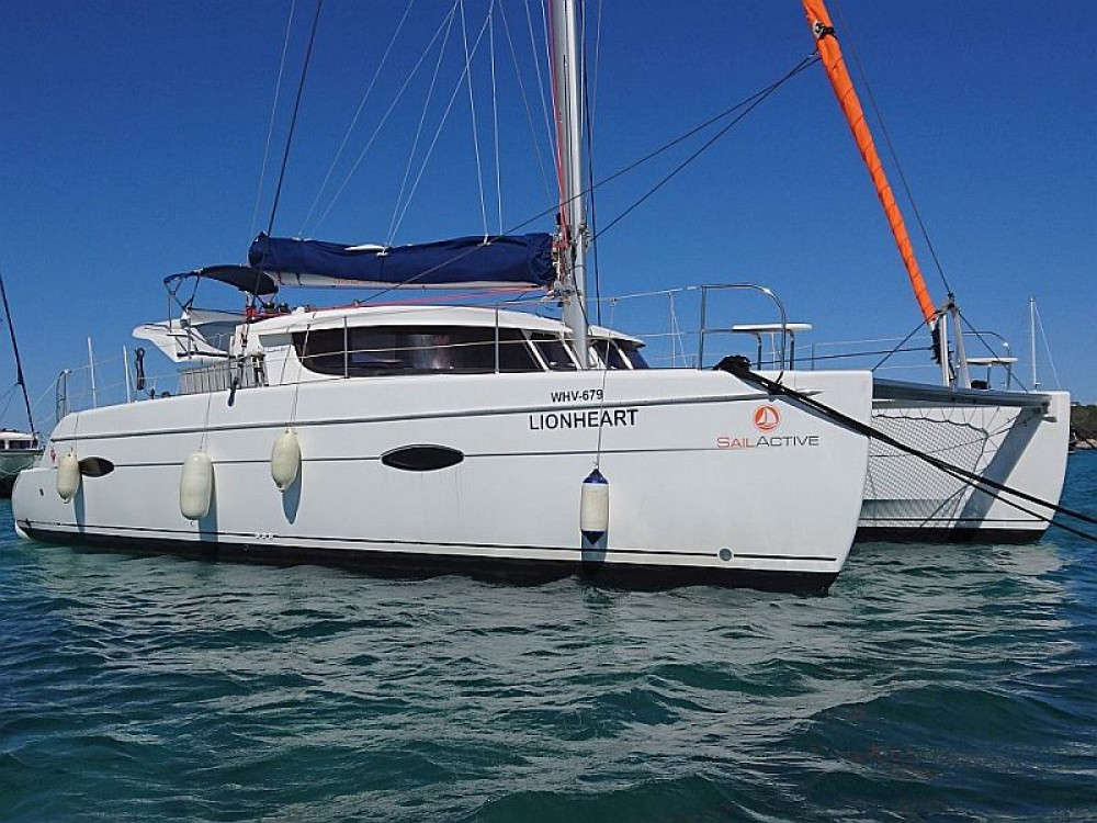 Fountaine Pajot Lipari 41 between personal and professional Palma