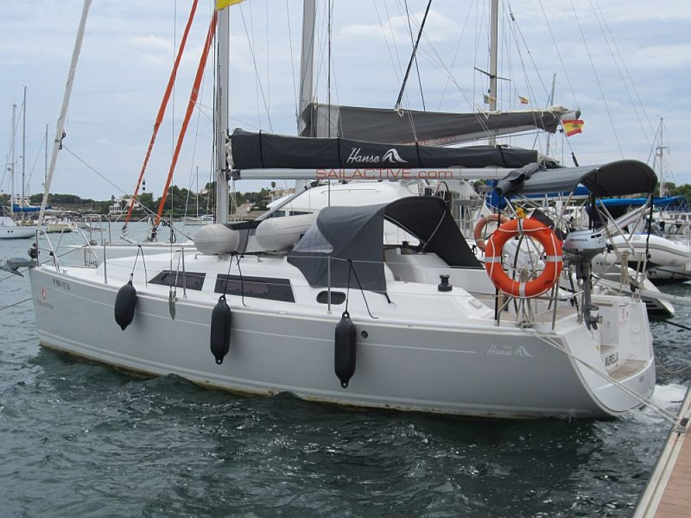 Rental Sailboat in  - Hanse Hanse 325