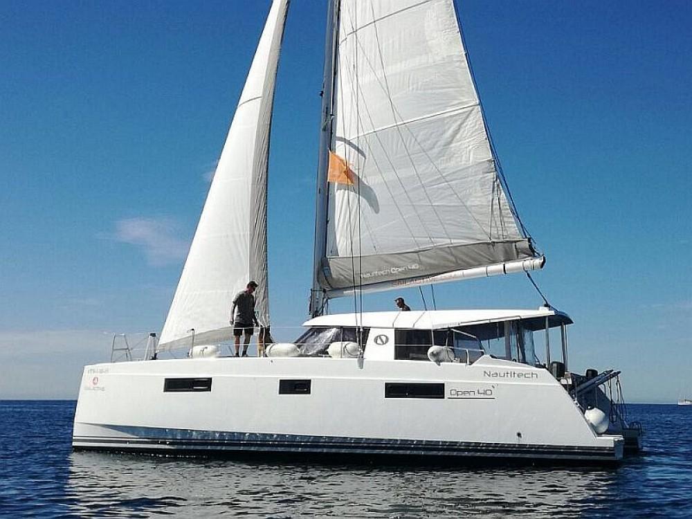 Boat rental Palma cheap Nautitech Open 40
