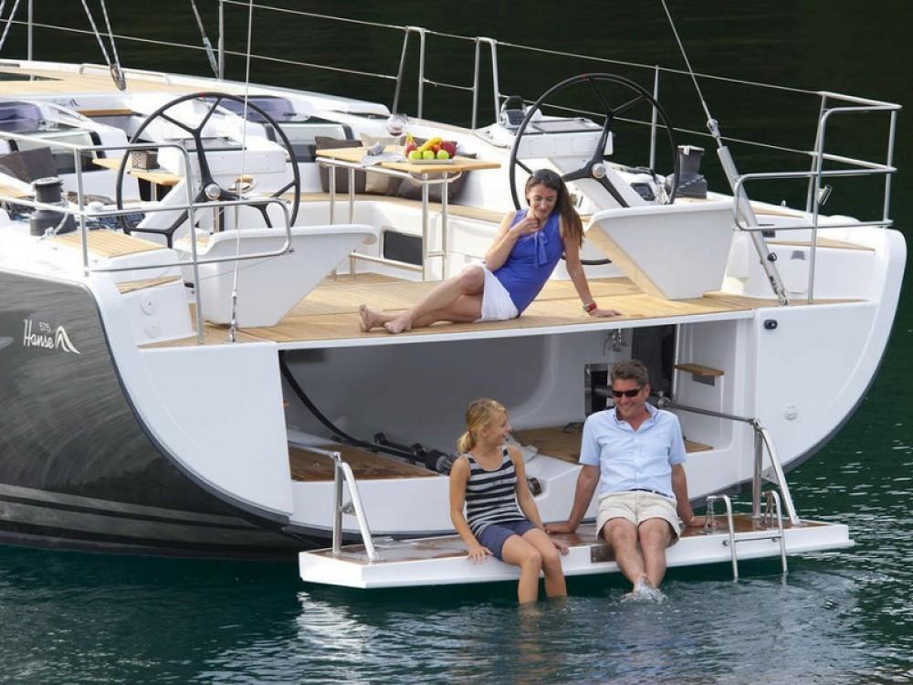 Boat rental Hanse Hanse 575 in Palma on Samboat
