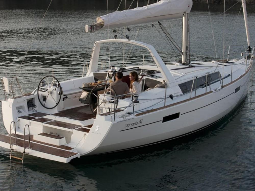 Boat rental Palma cheap Oceanis 41
