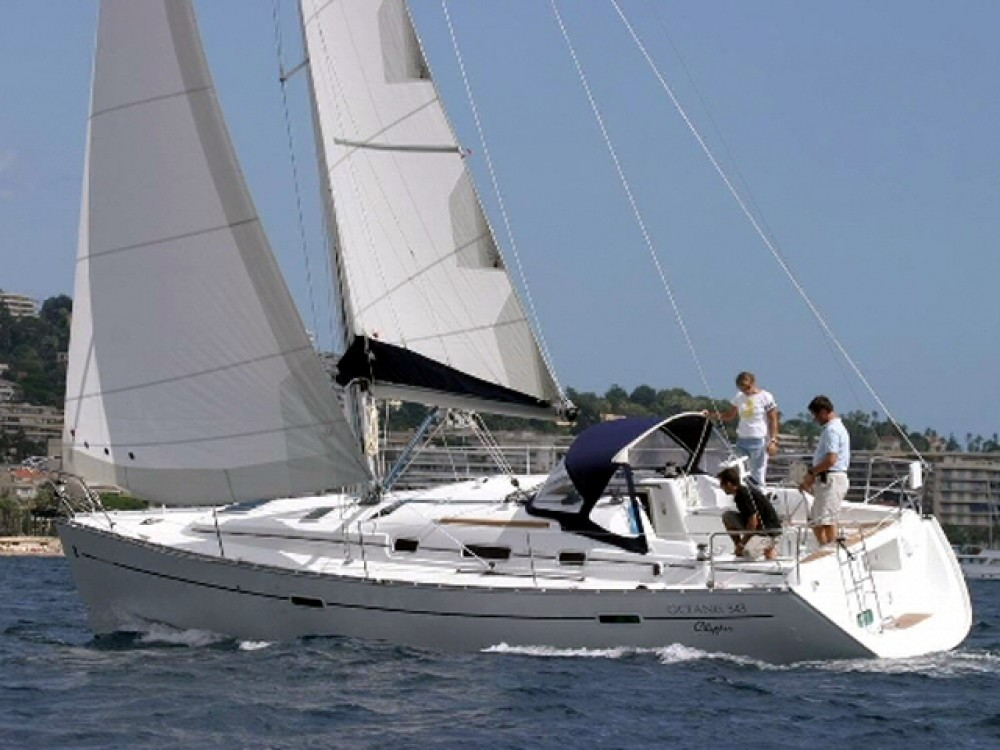 Boat rental Trogir cheap Oceanis 343