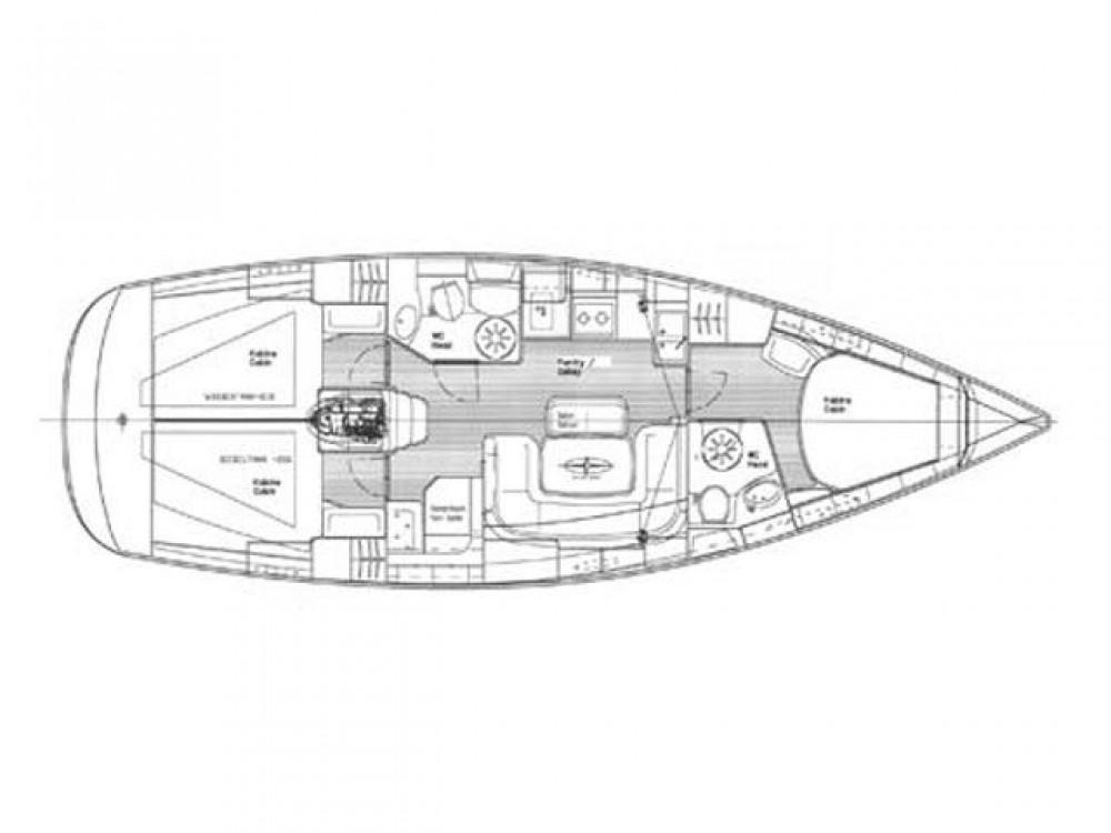 Boat rental Trogir cheap Bavaria 39 Cruiser