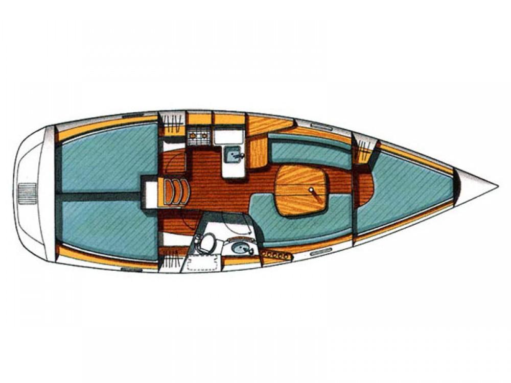 Rent a Bénéteau Beneteau Oceanis 331 Clipper ACI Marina Trogir