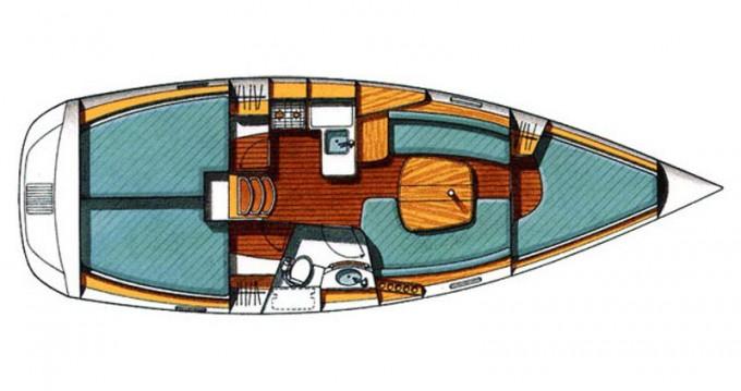 Rent a Bénéteau Beneteau Oceanis 331 Clipper Trogir