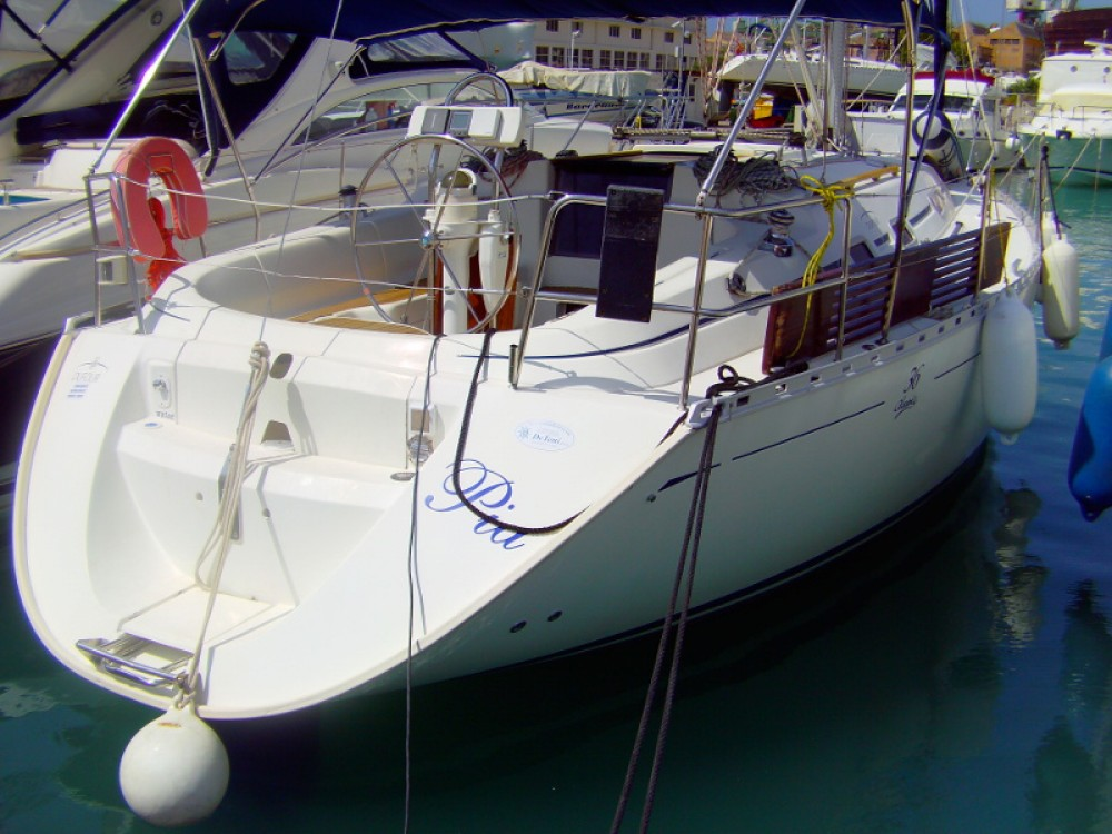 Sailboat for rent ACI Marina Trogir at the best price