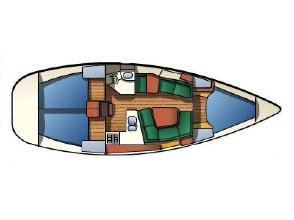 Boat rental Δήμος Βόλου cheap Sun Odyssey 37