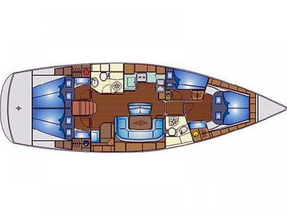 Boat rental Bavaria Bavaria 46 Cruiser in Volos on Samboat