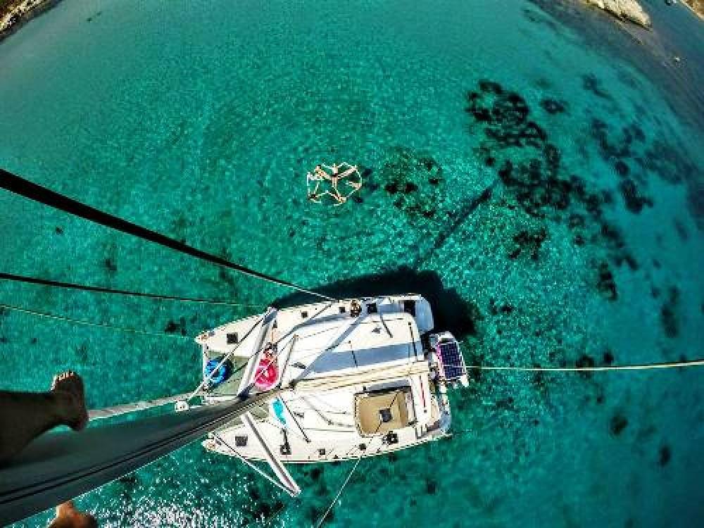 Lagoon Lagoon 400 S2 between personal and professional Adamantas