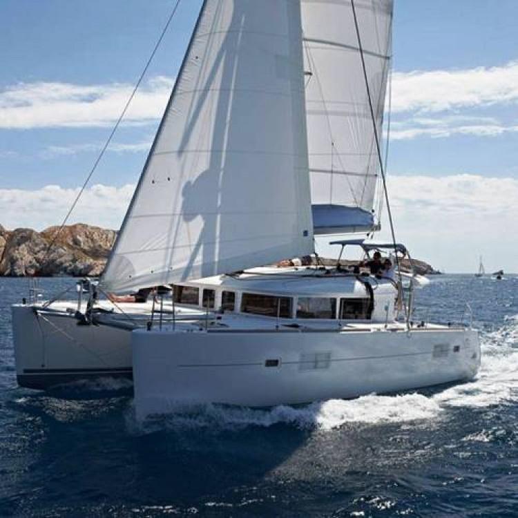 Catamaran for rent Adamantas at the best price