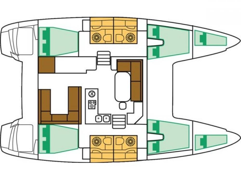 Rental Catamaran in Adamantas - Lagoon Lagoon 400 S2