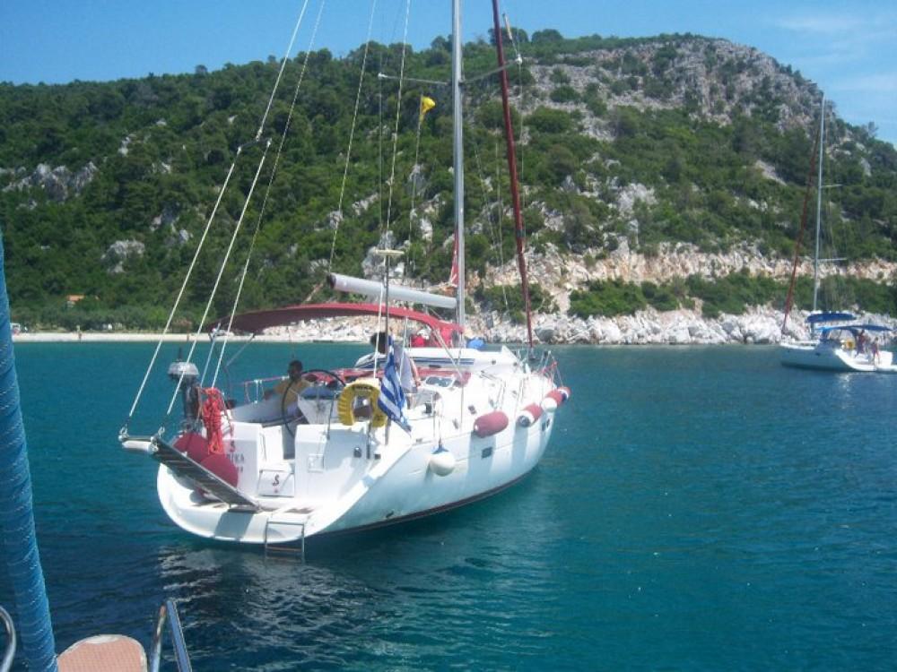 Boat rental Volos cheap Oceanis 411 Clipper