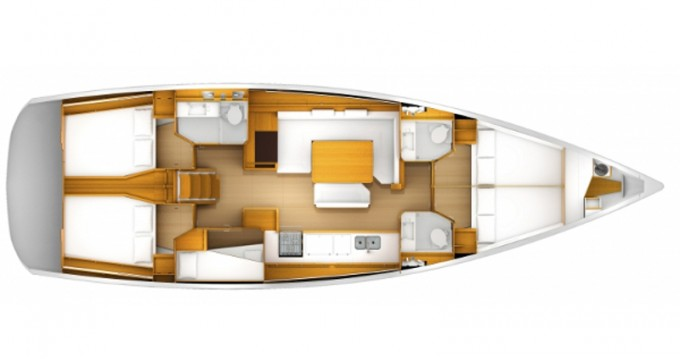 Boat rental Keramotí cheap Sun Odyssey 509
