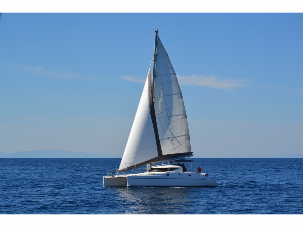Fountaine Pajot Athena 38 between personal and professional Volos Municipality