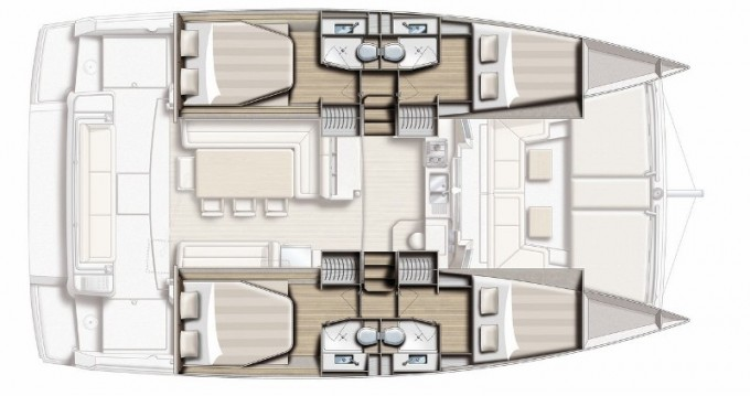 Rental yacht Volos - Bali Catamarans Bali 4.1 on SamBoat