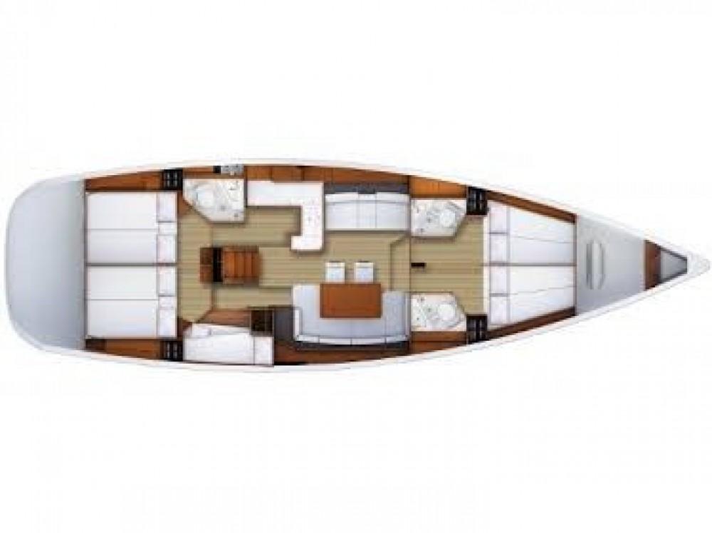 Rental yacht Keramoti - Jeanneau Jeanneau 53 on SamBoat