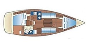 Sailboat for rent Keramotí at the best price