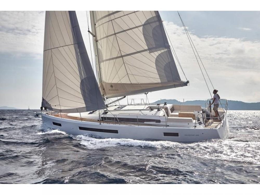 Boat rental Keramoti cheap Sun Odyssey 490