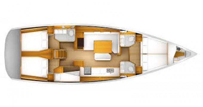Boat rental Jeanneau Sun Odyssey 49i in Skiathos on Samboat