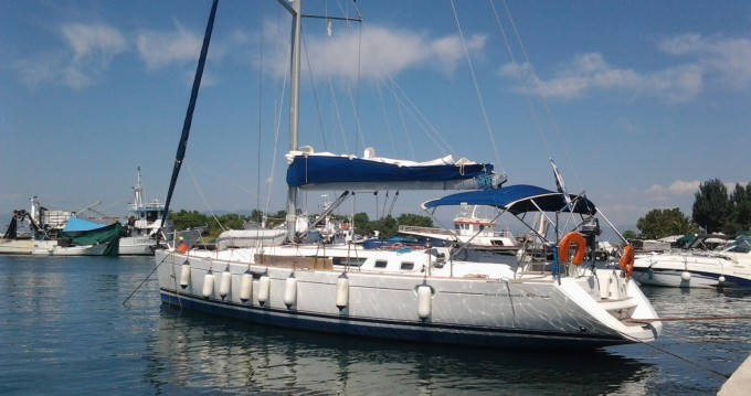 Boat rental Keramotí cheap Sun Odyssey 49