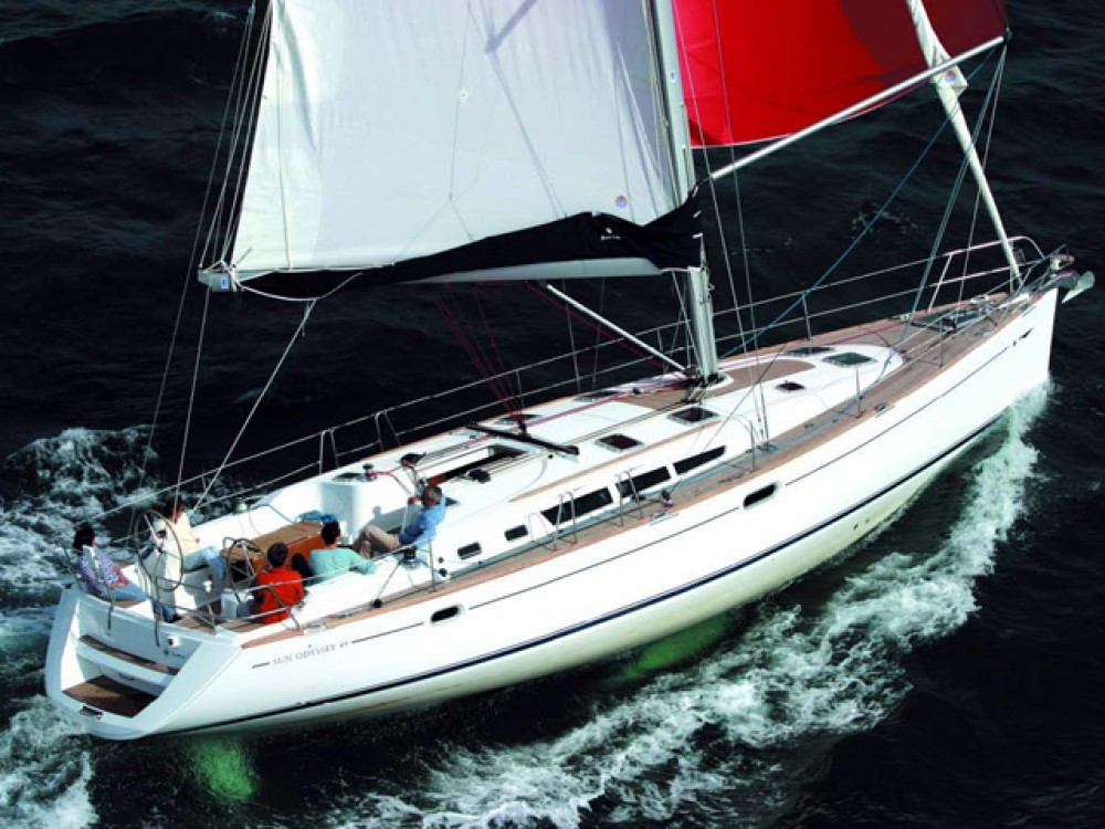 Rental Sailboat in Keramoti - Jeanneau Sun Odyssey 49