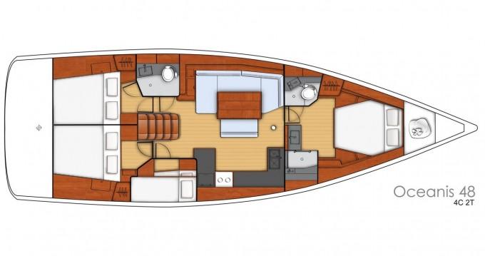 Rental Sailboat in Ibiza Town - Bénéteau Oceanis 48