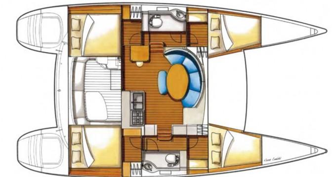 Rental yacht Ibiza Town - Lagoon Lagoon 380 S2 on SamBoat
