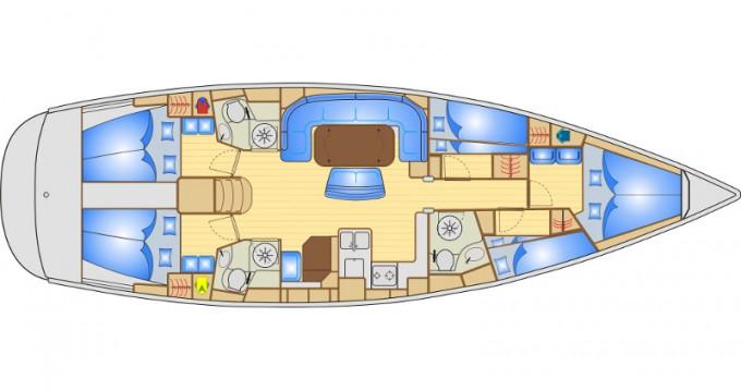 Rental Sailboat in Ibiza Town - Bavaria Bavaria 50
