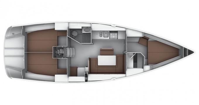 Rental Sailboat in Cagliari - Bavaria Cruiser 40