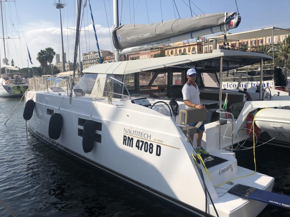 Rental yacht Golfo Aranci - Nautitech Nautitech Open 40 on SamBoat