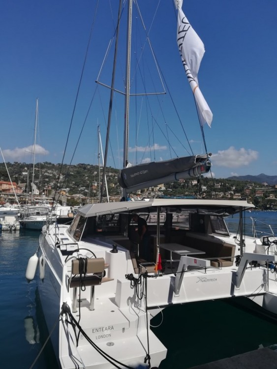 Catamaran for rent Golfo Aranci at the best price