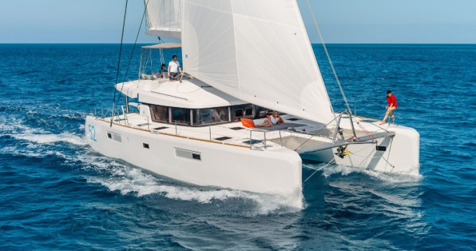 Boat rental Ibiza Town cheap Lagoon 52 F
