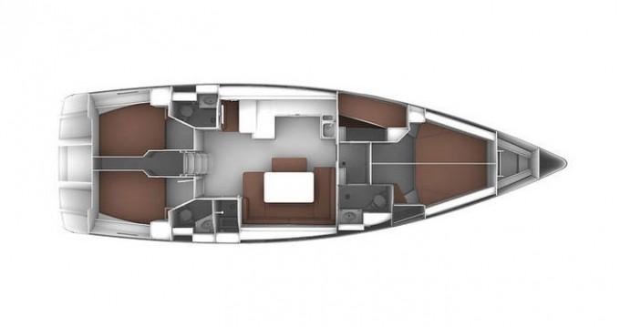 Bavaria Cruiser 51 between personal and professional Marina di Portisco